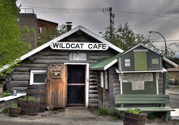 Wildcat Cafe in Old Town Yellowknife, NT