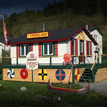 The Viking Shop, Saint Lunaire-Griquet, NL